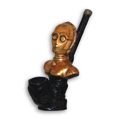 JROS Star Wars C3PO smoking pipe