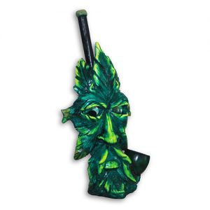 JROS Cannabis leaf smoking pipe