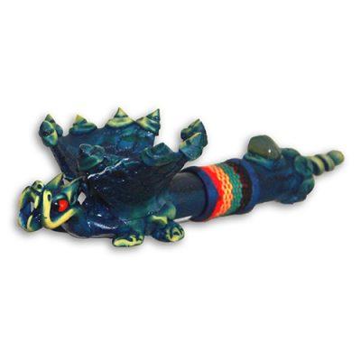 JROS Flying Blue Dragon smoking pipe
