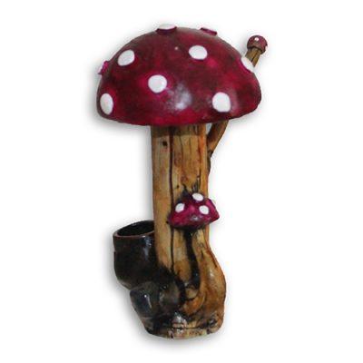 JROS Purple Mushroom smoking pipe