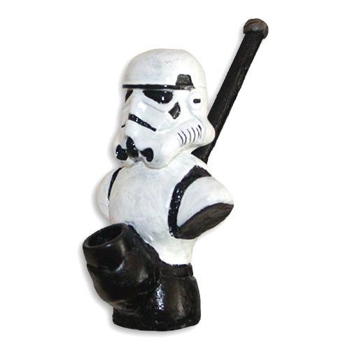 JROS Star Wars Storm Trooper smoking pipe