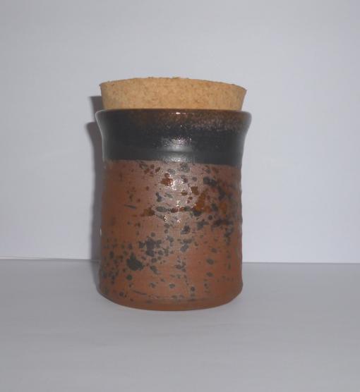 Brown Herb jar for buds