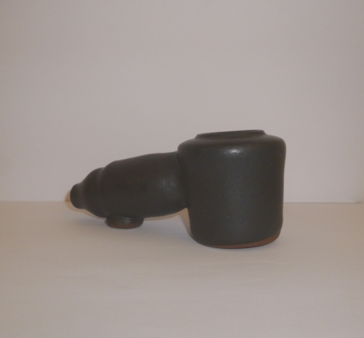 black clay fired pipe